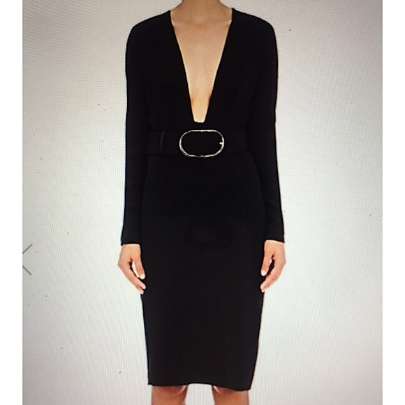 Stella McCartney Dresses & Skirts - Stella McCartney Stretch Cady Fitted Dress